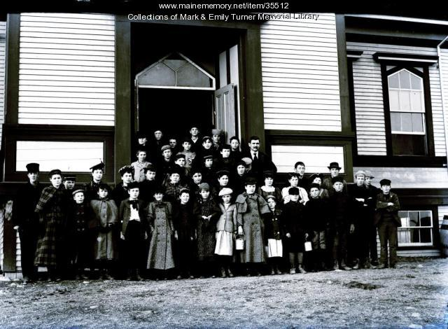 Ashland High School, Ashland, ca. 1900