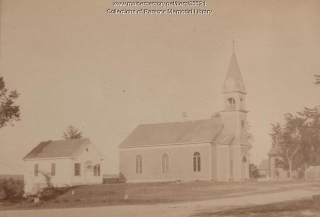Alfred Parish Church, ca. 1900