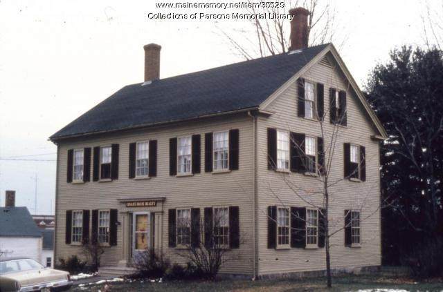 Ira Drew home, Alfred, ca. 1900
