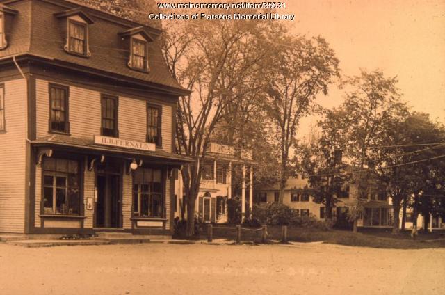 Fernalds Store, Alfred, ca. 1900