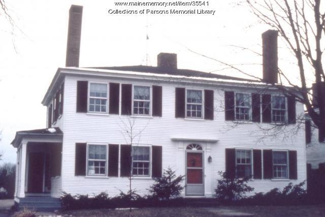 Perkins home, Alfred, ca. 1920