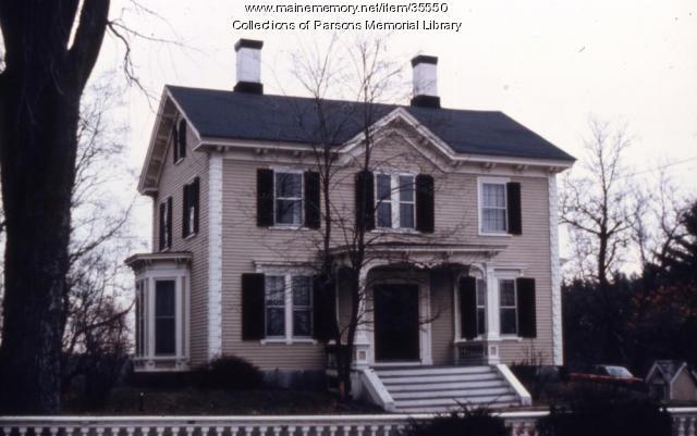 John Stimpson home, Alfred, ca. 1970