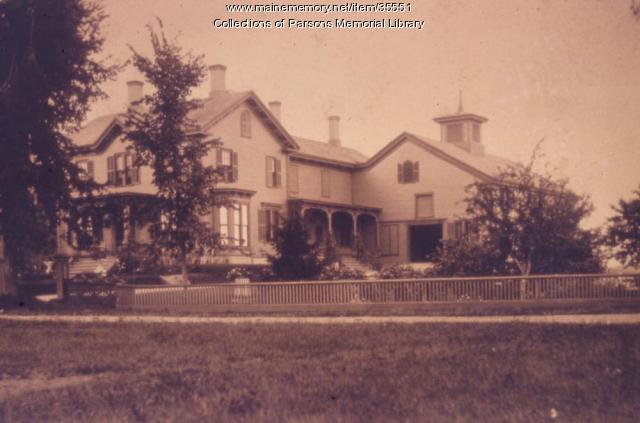 John Stimpson Homestead, Alfred, ca. 1900