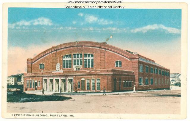 Exposition building, Portland, ca. 1920