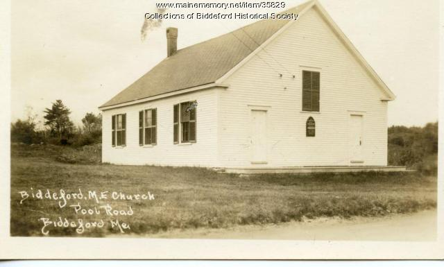 First Parish meetinghouse, Biddeford, ca. 1900