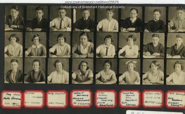 Emery school, Biddeford, 1927