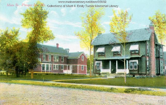 Griffin House, Presque Isle, ca. 1910