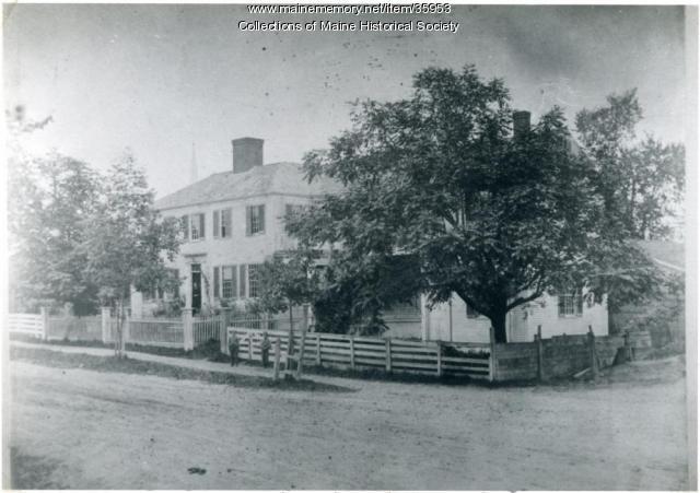 Josiah Pierce home, Gorham, ca. 1870
