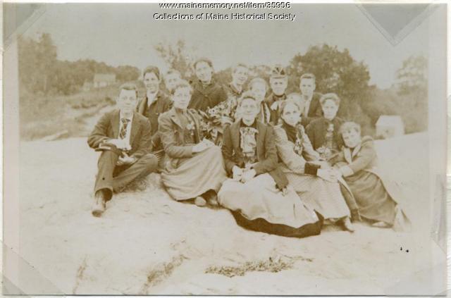 Portland High School seniors, 1892