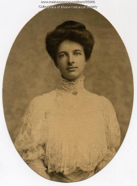 Katharine Robinson Curtis, ca. 1900