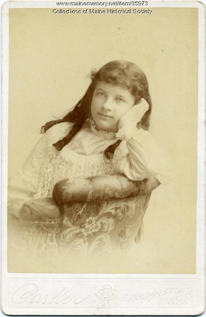 Katharine Curtis, Summit, N.J., ca. 1892