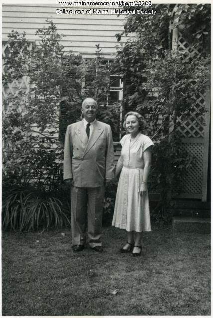 Maurice and Cecilia Pierce, Baldwin, ca. 1960