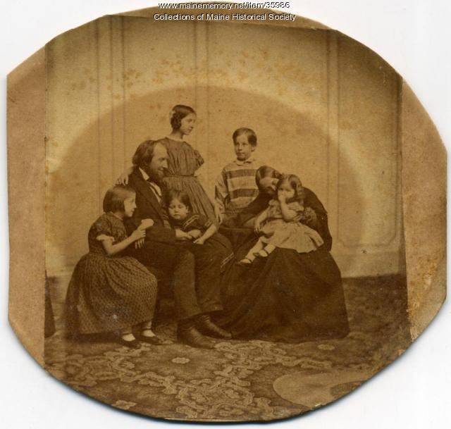 Hill family, Ohio, ca. 1860
