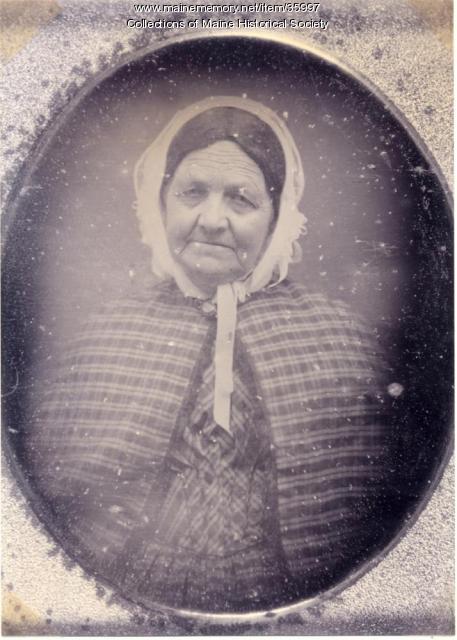 Hannah Pierce, Baldwin, ca. 1860