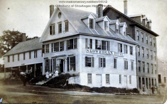 Skowhegan House, Madison Avenue and Elm Street, Skowhegan, ca. 1860