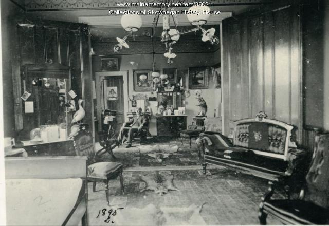 Office of the Heselton House, Skowhegan, ca. 1900