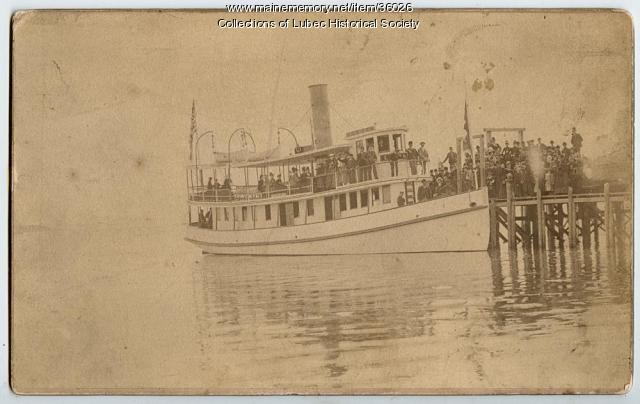 Ferry, North Lubec, ca. 1895