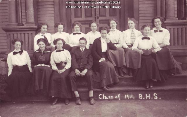 Brewer High School, Class of 1911