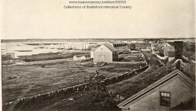 Evan's cottage at Biddeford Pool, ca. 1900
