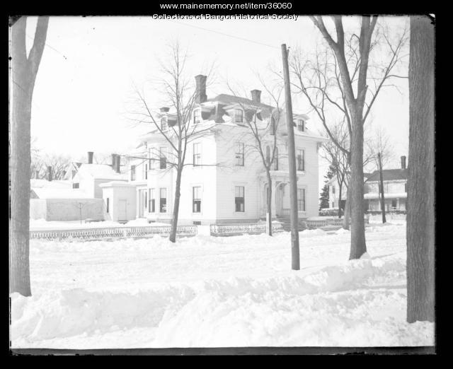 Front View of 144 Broadway, Bangor, ca. 1895