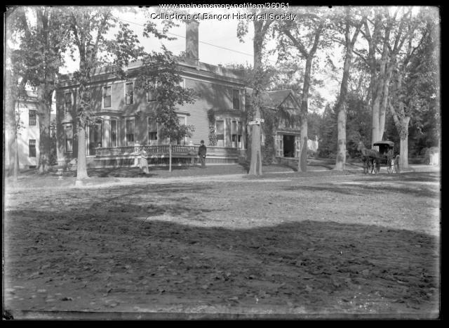 Corner View of 151 Broadway, Bangor, ca. 1895