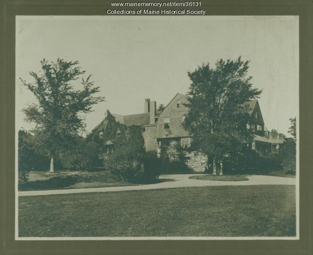 Henry St. John Smith 'Belfield,' Cape Elizabeth, ca. 1890