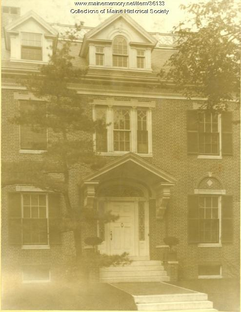 Richard Webb house, Portland, ca. 1907