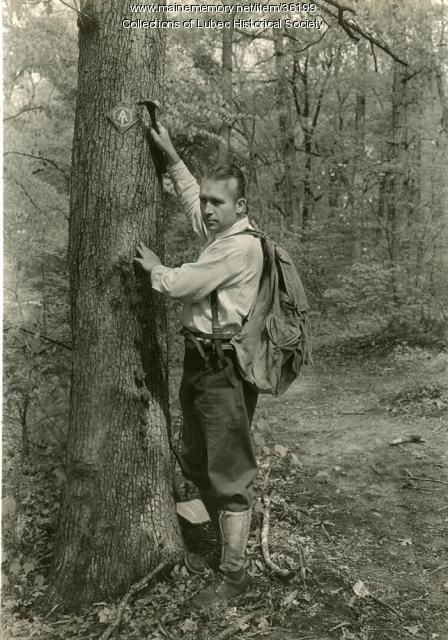 Myron Avery, Appalachian Trail, ca. 1930