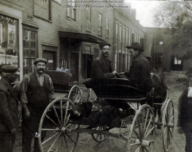 Dodge Street, Skowhegan, ca. 1907