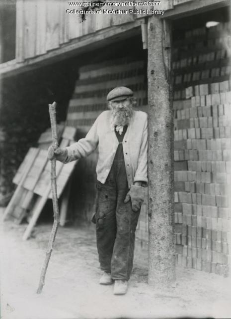 Moise Cartier, Saco brick worker, 1905