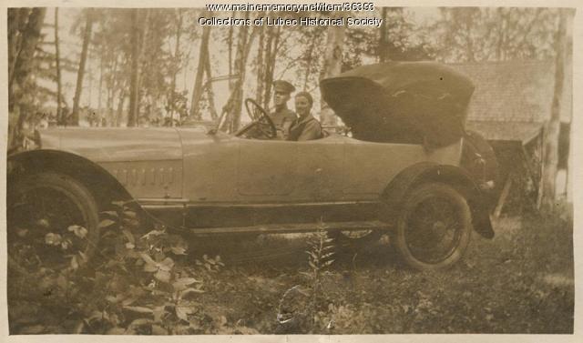 Owen Magnetic automobile, Lubec, ca. 1916