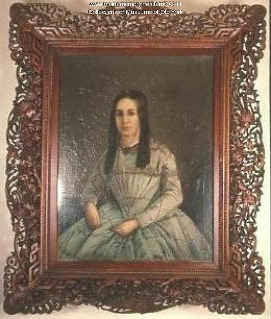 Portrait of Louise Caroline (Wilcox) Putnam, York, ca. 1856