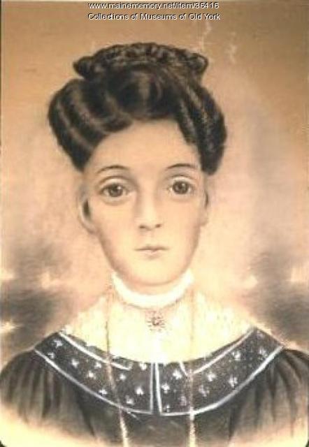 Portrait of Elizabeth (Junkins/Jenkins) Putnam, York and Houlton, ca. 1840