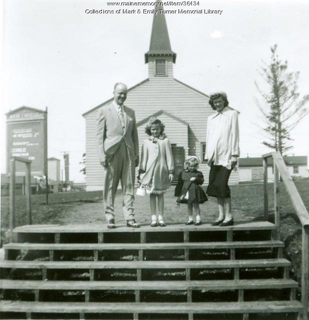 Presque Isle Air Base Chapel, 1955