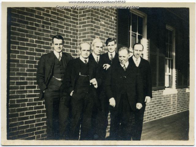 Staff, Maine State Sanatorium, Hebron, ca. 1912