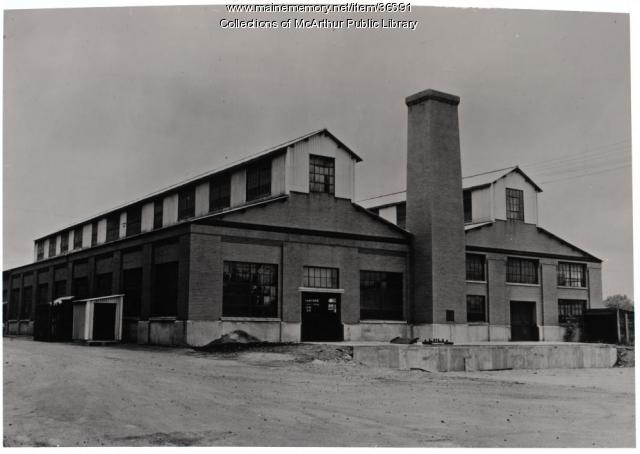 Saco-Lowell Shops Building 24, Biddeford, ca. 1965