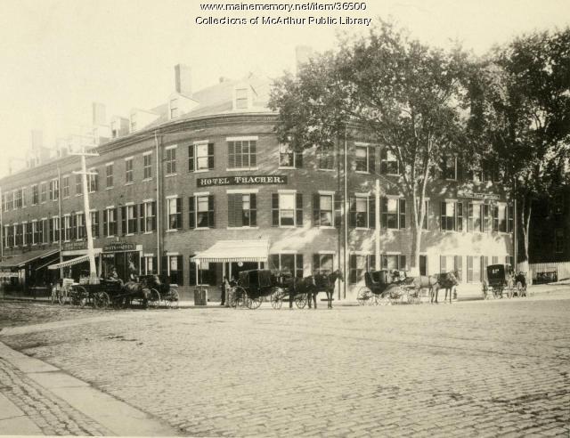 Hotel Thacher, Biddeford, ca. 1894