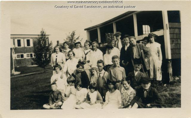 Maine State Sanatorium staff, Hebron, ca. 1912