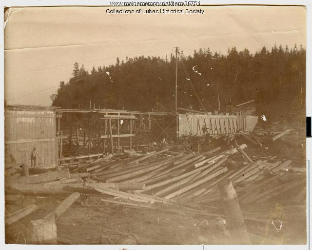 Gold from seawater swindle, Lubec, 1898