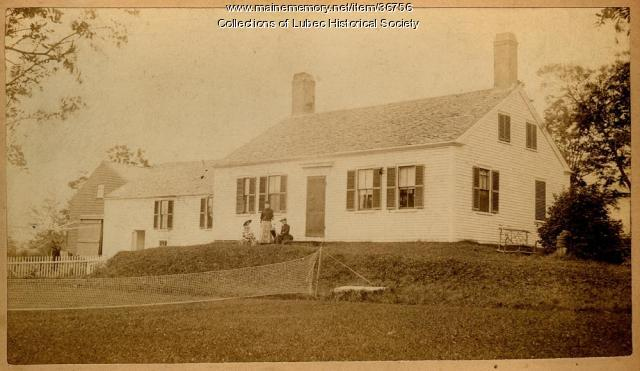 Charles Ring family home, Lubec, ca. 1890