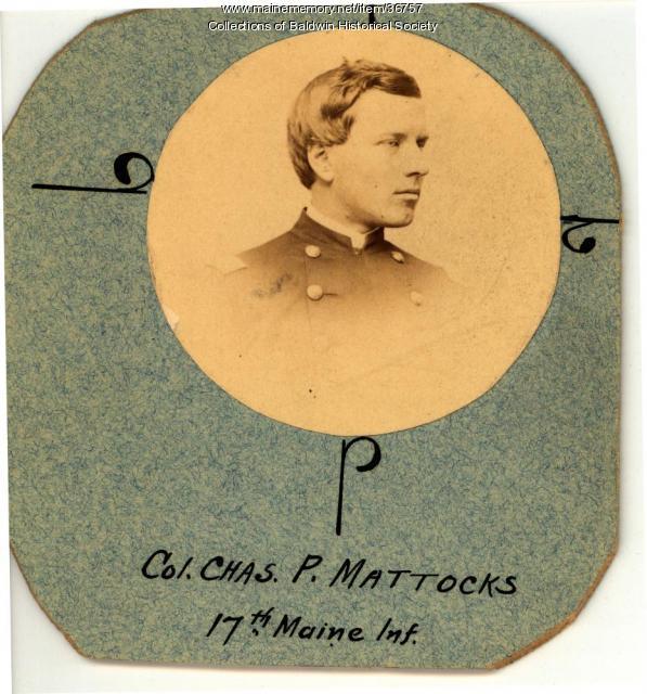 Charles Porter Mattocks, ca. 1863