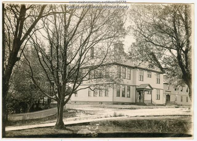 Hilltop School, Lubec, ca. 1912