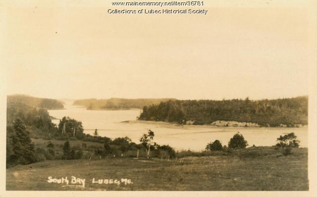 South Bay, Lubec, ca. 1925