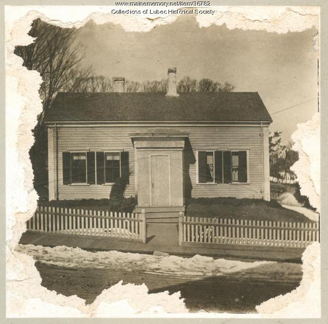 John A. Davis house, Lubec, 1949