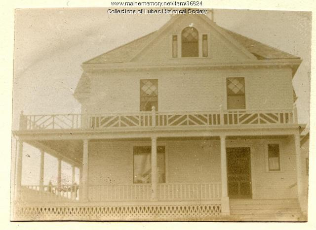 Dr. Bennet's house, Lubec, ca. 1895