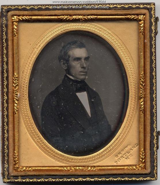 George M. Howe daguerreotype, Portland, ca. 1850