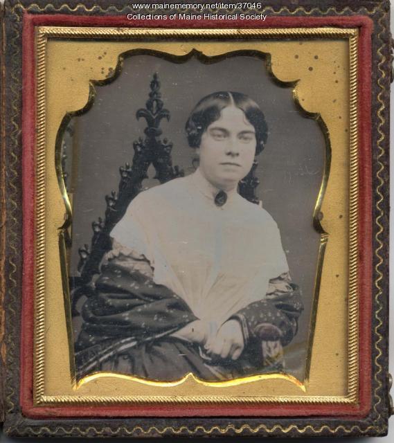Samuel L. Carleton daguerreotype, Portland, ca. 1850