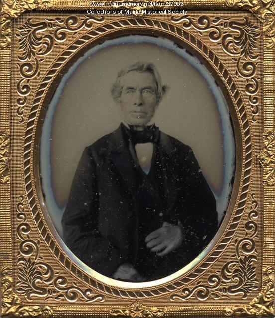 Josiah Murch of Unity, ca. 1855