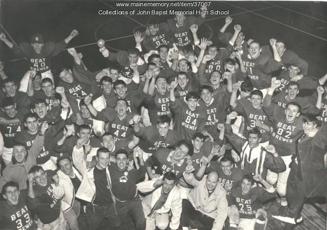 1964 John Bapst Football Team State Champions, Bangor, ca. 1964