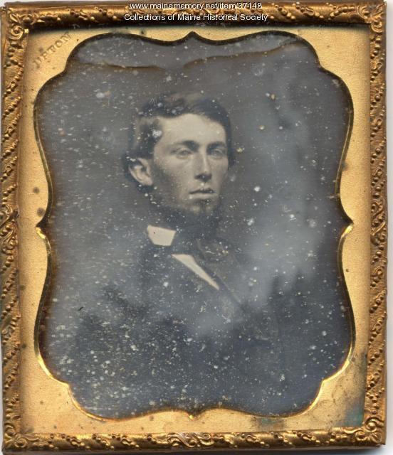 Benjamin Franklin Upton daguerreotype, ca. 1855